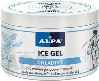 ALPA ICE GEL CHLADIVÝ masážny 1x250 ml