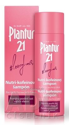 Plantur 21 longhair Nutri-kofeinový šampón 1x200 ml