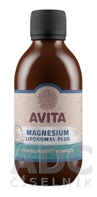 AVITA MAGNESIUM LIPOSOMAL Plus roztok, fosfolipidový komplex 1x250 ml