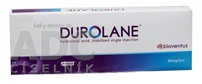 DUROLANE roztok intraartikulárny 60 mg/3 ml kyselina hyalurónová v predplnenej striekačke 1x1 ks