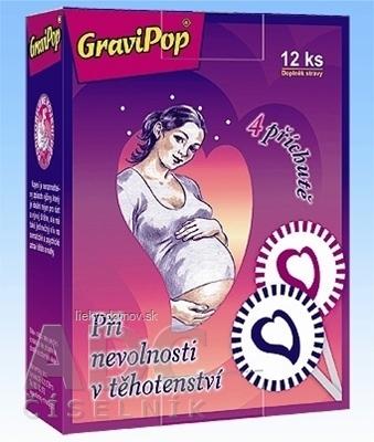 GraviPop lízanka pre tehotné ženy 1x12 ks