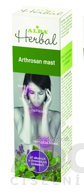ALPA Herbal ARTHROSAN masť 1x30 g