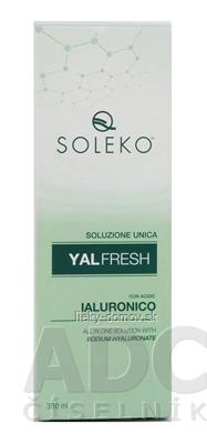 YALFRESH roztok na kontaktné šošovky s kyselinou hyalurónovou 1x380 ml