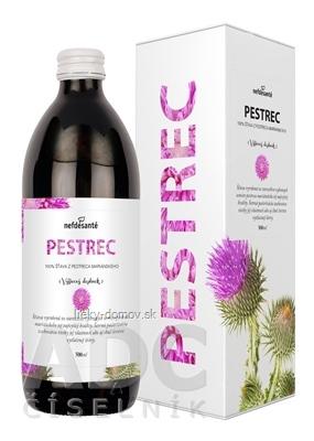 nefdesanté PESTREC šťava zo semien, s vitamínom C, 1x500 ml