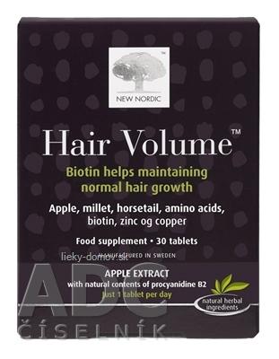 NEW NORDIC HAIR VOLUME tbl 1x30 ks