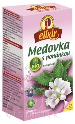 AGROKARPATY BIO Medovka s pohánkou bylinný čaj, balené vrecúška, 20x1,5 g (30 g)