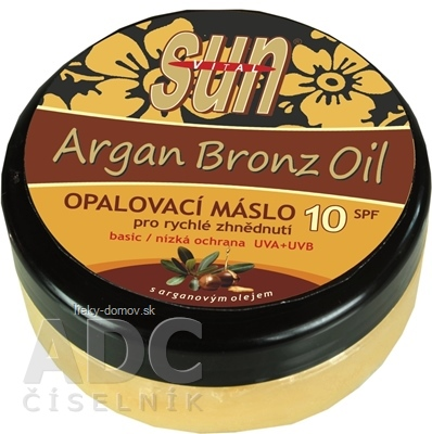 SUN ARGAN BRONZ OIL opaľovacie MASLO SPF 10 1x200 ml