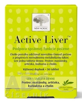 NEW NORDIC Active Liver tbl 1x30 ks
