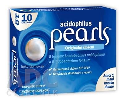 acidophilus pearls cps (inov. 2021) 1x10 ks