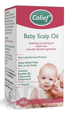 Colief Baby Scalp Oil detský olej 1x30 ml