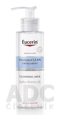Eucerin DermatoCLEAN HYALURON Čistiace MLIEKO citlivá pleť 1x200 ml