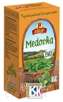 AGROKARPATY BIO Medovka bylinný čaj, čistý prír. produkt, 20x2 g (40 g)
