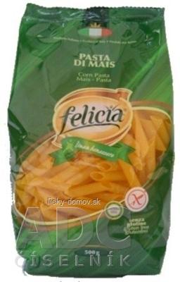 Kukuricne cestoviny Felicia Penne Rigate bez lepku 1x500 g