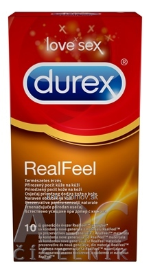 DUREX Real Feel nelatexový kondóm 1x10 ks
