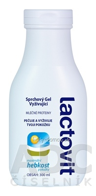 Lactovit Sprchový gel vyživujúci 1x300 ml