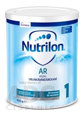 Nutrilon 1 AR mliečna výživa v prášku (od narodenia) (inov. 2019) 1x800 g
