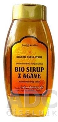 BIO SIRUP Z AGÁVE prírodné sladidlo 1x500 g
