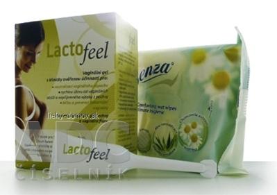 LactoFeel vaginálny gél 7x5 ml + utierky pre intímnu hygienu, 1x1 set