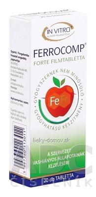 FERROCOMP FORTE 10 mg tbl 1x20 ks
