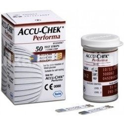 ACCU-CHEK Performa 50 testovacie prúžky do glukomera