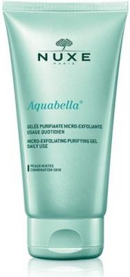 Nuxe Aquabella exfoliačný čistiaci gél pre zmiešanú pleť 150 ml