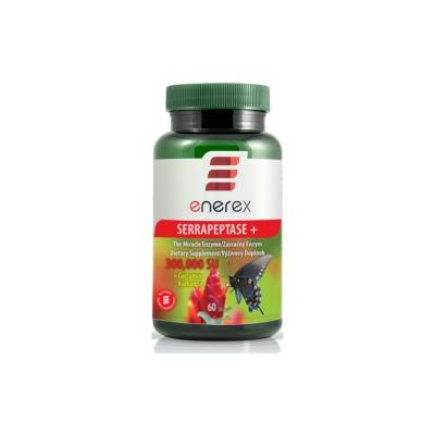 Enerex Serrapeptáza 300 000 SU + Kurkumín 250 mg 60 cps