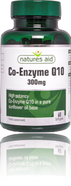 Natures Aid®    CO-ENZYME Q10 300MG