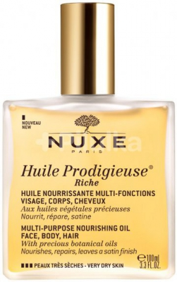NUXE HUILE RICH OIL 100 ML