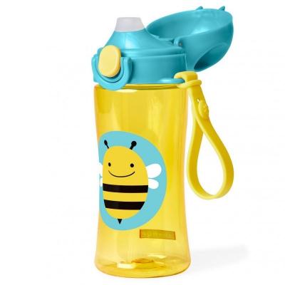 Zoo Fľaša športová s uzáverom - Včielka 3+ SKIP HOP