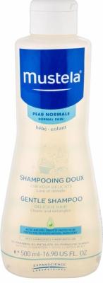 Mustela Bébé jemný šampón pre deti od narodenia 500 ml
