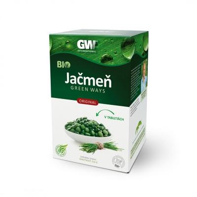 GW BIO jačmeň Green Ways tablety (210g)