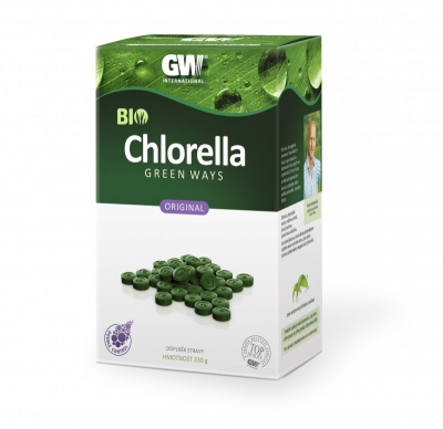 GW BIO CHLORELLA Green Ways (330 g) tbl
