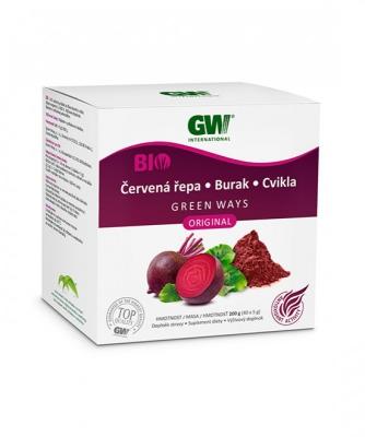 GW BIO sušený prášok zo šťávy koreňa CVIKLY (200g)