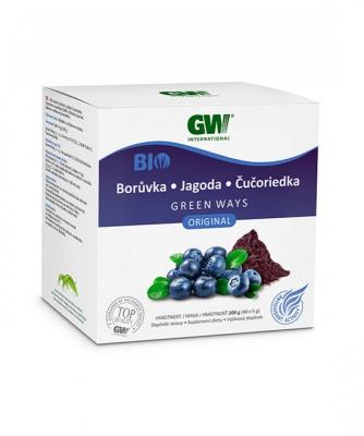 GW BIO sušený prášok z plodov ČUČORIEDKY (200g)
