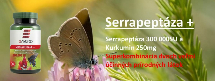 Enerex Serrapeptáza 300 000 SU 60 kapsúl